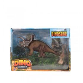 Dinosaurio X1 En Caja Dino World 1375563