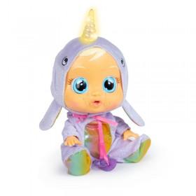 Muñeca Bebe Cry Babies Narvie Llora Con Lagrimas ,Sonido, Luz Cuerno 95954