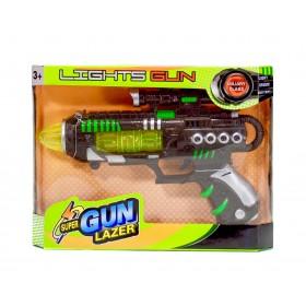 Pistola Espacial Con Luz y Sonido