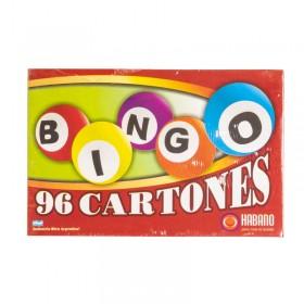 Bingo 96 Cartones Habano