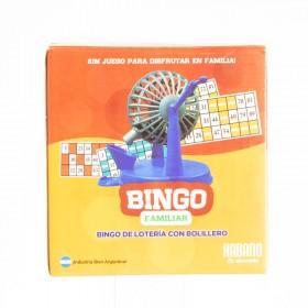 Bingo Con Bolillero Habano