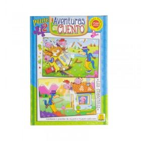 2 Puzzle x25 y 40Pcs Los Chanchitos