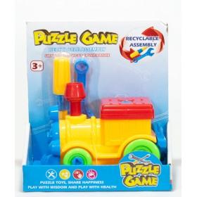 Locomotora Puzzle Game Para Armar 5221A