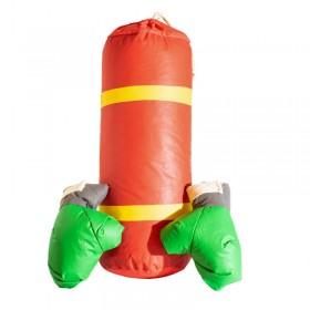 Bolsa Mediana Con Guantes Boxeo