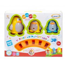 Tren Didáctico Pingüino Con Luz y Sonido GY810