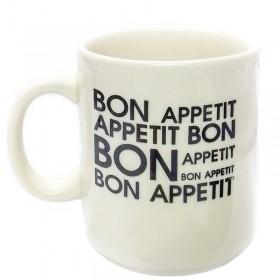 Jarro Mug 270cc Decorado Bon Appetit