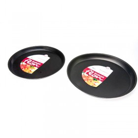 Pizzera 35 cm Con Antiadherente Guadix Tb-118-N