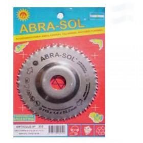 Disco Sierra 115x1.4x22mm Abra-Sol ABR0252