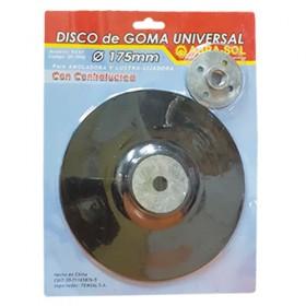 Disco Goma 175mm Universal 4800RPM ABR0247