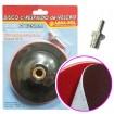 Disco Plástico con Velero 125mm con Rosca ABR0134