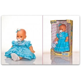 Mi Bebé Llora 48cm Con Vestido Yoly Bell 1221